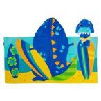 ステファンジョセフ Stephen Joseph 男の子用サーファー恐竜さんなりきりフード付きタオル バスタオル ビーチタオル 日焼け防止