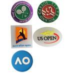 4個 テニス 振動止め ウィンブルドン ローランギャロス 全英 全仏