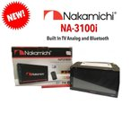 NA3100i Bluetooth内蔵/TV内蔵(アナログ)/DVD/CD/SD/USB/AM/FM/MP3/AUX-IN ナカミチ Nakamichi