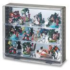 コレクションケース 壁掛け フィギュアラック おもちゃ インテリア 背面ミラー