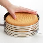 【ゾロ目の日クーポン】 ケーキスライサー 抜き型 丸型 型抜き 製菓道具 お菓子作り