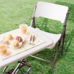 アウトドアチェア 椅子 折りたたみ ガーデンチェア チェアー 白 ホワイト