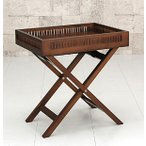 ショッピングアジアンテイスト サイドテーブル 竹製 アジアンテイスト