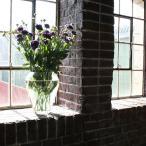 ガラスベース 花瓶 おしゃれ フラワーベース 花器 ガラス製