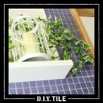 タイルシート シール DIY モザイクタイル キッチン はがせる 北欧 防水 トイレ おしゃれ 淡い 色 シンプル レトロ 正方形
