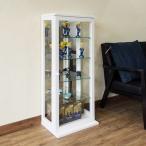 コレクション棚 コレクションケース ガラス 模型 ガラスケース 白 茶色
