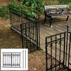 ゲート 門 支柱 2本 セット diy ガーデンフェンス 柵 枠 庭 北欧 ヨーロピアン おしゃれ アンティーク