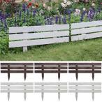 柵 フェンス 3枚セット 庭 天然木 木製フェンス diy ガーデニング 簡単 さすだけ ガーデンフェンス