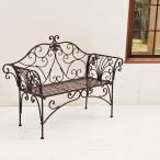 ガーデンベンチ 椅子 白 ホワイト ブラウン ベンチ ガーデン用ベンチ ガーデンチェア 姫系 アンティーク風 モダン 装飾