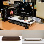パソコンスタンド PCモニター台 低い 薄い PCスタンド