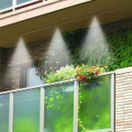 ミストシャワー ミスト噴霧器 ガーデニング ベランダ 庭 園芸 テラス 屋外用 散水 霧状 マンション