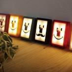 フットライト ウォールライト LED スイッチ 電気 かわいい 子供部屋 廊下 電池式 マジックテープ 配線不要 顔 デザイン