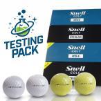 スネルゴルフジャパン直営ストア テスティングパック MTB BLACK&Xホワイト/イエロー各1スリーブ(1箱12球入り) 日本正規品