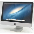 中古iMac Apple MC508J/A 21.5インチ【Corei3 3.06GHz/メモリ4GB/HDD500GB/MacOS10.8.4】