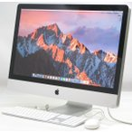 中古iMac Apple MC511J/A 27インチ【Corei7 2.93GHz/メモリ8GB/HDD1TB/MacOS10.12.5】