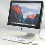 中古iMac Apple MC508J/A 21.5インチ【Corei3 3.06GHz/メモリ4GB/HDD500GB/MacOS10.11.6】