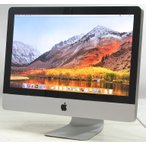 中古iMac Apple MC508J/A 21.5インチ【Corei3 3.07GHz/メモリ8GB/HDD1TB/MacOS10.13.6】