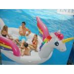 INTEX ユニコーンパーティーアイランド ゴムボート 5m×3.4m コストコ #12056 水上パーティー