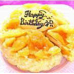 バースデーケーキ 誕生日ケーキ アイスクリームケーキ 記念日 結婚祝い アニバーサリーケーキ アップルケーキ りんごアイスケーキ5号