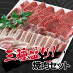 極上焼肉三種盛り 600g (大和榛原牛A5カルビ300g+大和美豚の豚バラ150g+豚もも肉150g) 送料無料
