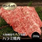 牛肉 黒毛和牛 大和榛原牛 A5 超稀少 特上 ハラミ 焼
