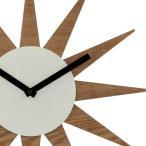 掛け時計 ウォールクロック おしゃれ 北欧 アンティーク インテリア レトロ デザインウォールクロック 太陽 星