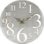 時計 掛け時計 おしゃれ デザイン 北欧 インテリア かわいい レトロホワイト アンティーク