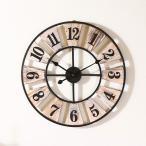 掛け時計 ウォールクロック おしゃれ 北欧 アンティーク インテリア レトロ デザインウォールクロック ウッド