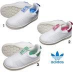 ショッピングadidas adidas アディダス オリジナルス スタンスミス スリッポン キッズ ベビー  スネーク S32128 STAN SMITH 360 I