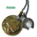 Ateaseアティース インディアンコインネックレス COIN-06