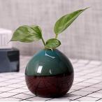 花瓶 ミニ花器 かびん 陶器 セラミック -フラワーベース花瓶+ いちりんざし 一輪挿し 小さい ちいさい 小さな 水栽培 鉢植えの植物 フラワーポッ