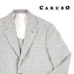 【46】 CARUSO カルーゾ ジャケット メンズ 秋冬 千鳥