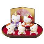 キティ Hello Kitty ディズニー Disney インテリア 和陶器 和モダン /ハローキティ 雛飾りセット