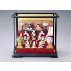 ひな人形 お雛様 五月人形 御節句 インテリア 和陶器 和モダン /彩堂 着彩五段飾り