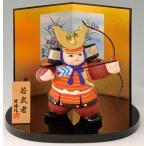 ひな人形 お雛様 五月人形 御節句 インテリア 和陶器 和モダン /若武者弓取り
