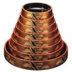 寿司桶(すし桶)DX富士桶・梨地老松尺3寸(7人用)