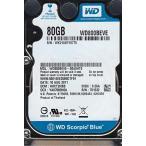 WD800BEVE-00A0HT0, DCM HHCT2HBB, Western Digital 80GB IDE 2.5 Hard Drive 輸入品