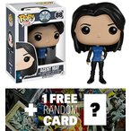 Melinda May: Funko POP! x Agents of S.H.I.E.L.D. Vinyl Figure + 1 FREE Official Marvel Trading Card Bundle [51204] 輸入品