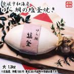 愛媛 宇和海産 お祝いに! 【 鯛の塩釜焼 】(大) 宇和海の幸問屋 送料無料