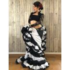 32ヤード ジプシースカート♪超軽い!(32yard Gypsy Skirt -  Black/White/Black/White/Black)