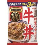 グリコ DONBURI亭3食パック牛丼 120g×3 ×10個セット/ DONBURI亭 レトルト牛丼 (毎)