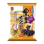 岩塚の黒豆せんべい 10枚×12個セット/ 黒豆せんべい 米菓