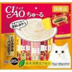 いなば チャオちゅーる とりささみバラエティ 14g×20/ チャオちゅーる 猫用 おやつ (毎)