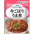キユーピー やさしい献立 牛ごぼううま煮 100g /やさしい献立 介護食 区分2
