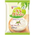 マンナンライフ 蒟蒻畑 ララクラッシュ 杏仁ミルク 8個 /蒟蒻畑 蒟蒻ゼリー