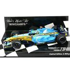 ルノー F1チーム R26 アロンソ 2006 フランスGP2位 (1/43 ミニチャンプス400060201)