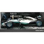 メルセデス AMG ペトロナス F1 W07 ハイブリッド シンデルフィゲン デモンストレーションラン WC 2016 トロフィー付 (1/43 ミニチャンプス410161006)