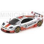 """マクラーレン F1 GTR """"WEST COMPETITION"""" NIELSEN/MASS/BSCHER 24h ル・マン 1995 (1/18 ミニチャンプス530133549)"""