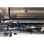 V-VISION ハイラックス(GUN125) 右片側2本出し サイドマフラー (車検対応)/ ブイビジョン