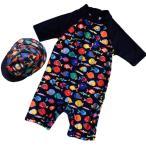 monoii ベビー 水着 男の子 赤ちゃん 水着 ベビー ラッシュガード 水着 子供 帽子付 b345